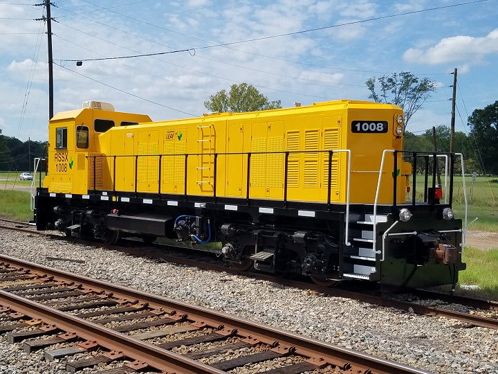 LEAF Gen-set Locomotive 4