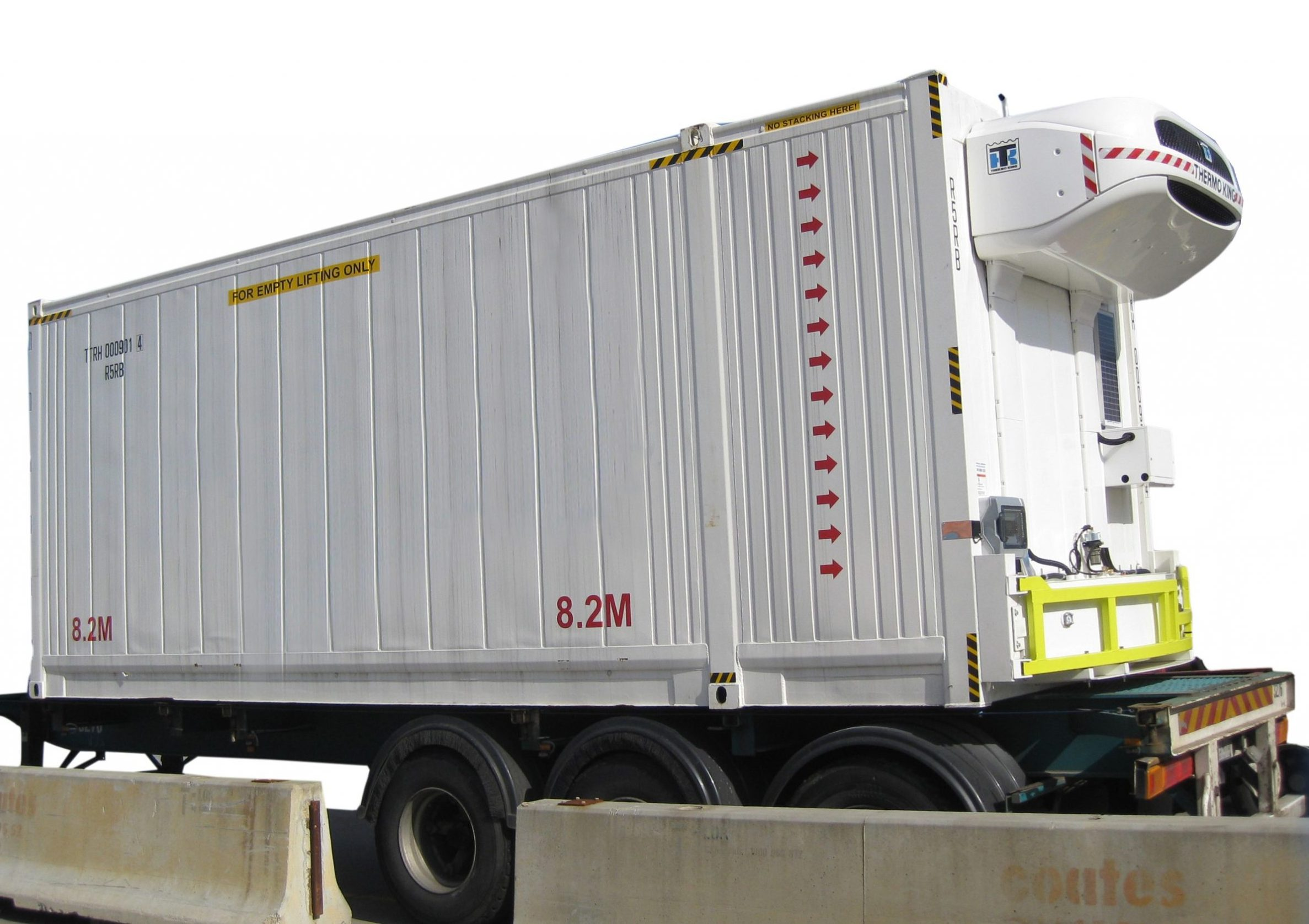 lift off truck body rigid shipping container