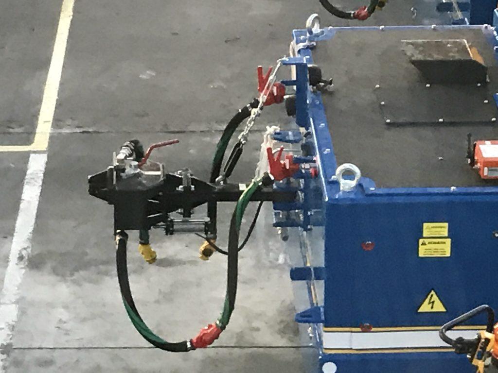ZPH Type 10 coupler deployed